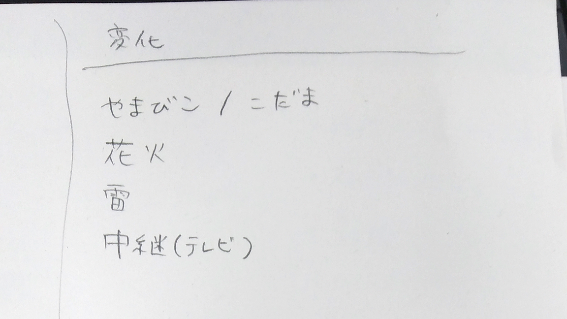 作品アイデア(2)
